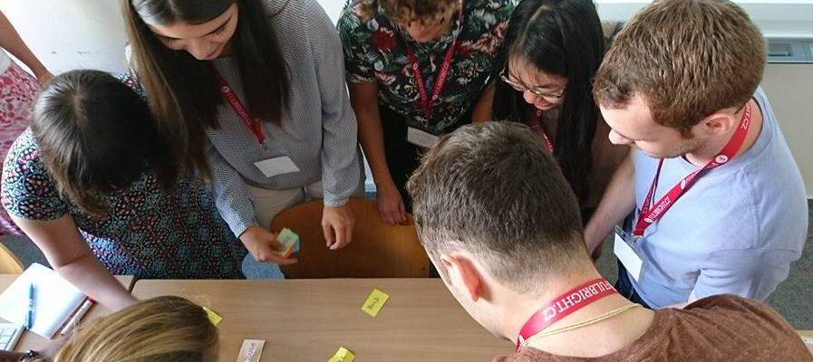 Fulbright ETA na školení v Brně
