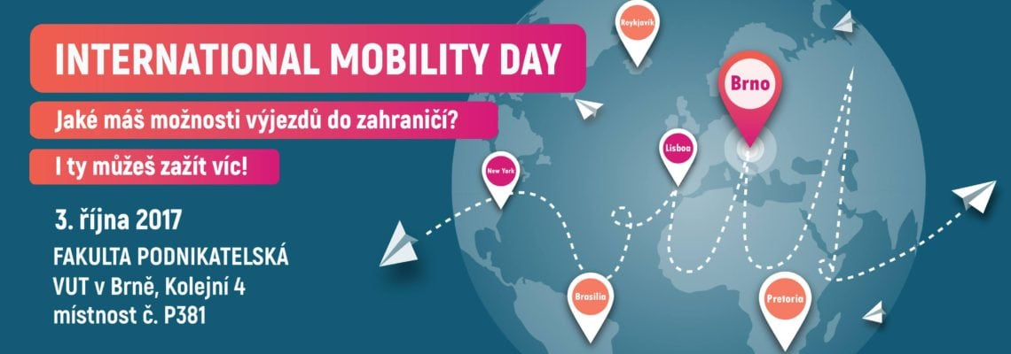 VUT International Mobility Day 2017
